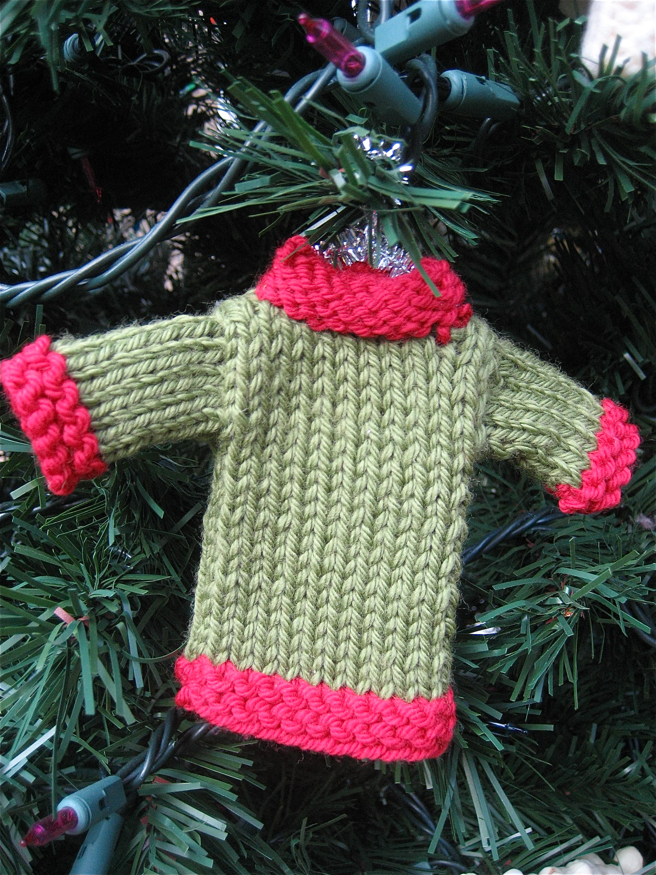 Christmas Knitting Patterns Easy : Christmas in July    10 Big A, Little A