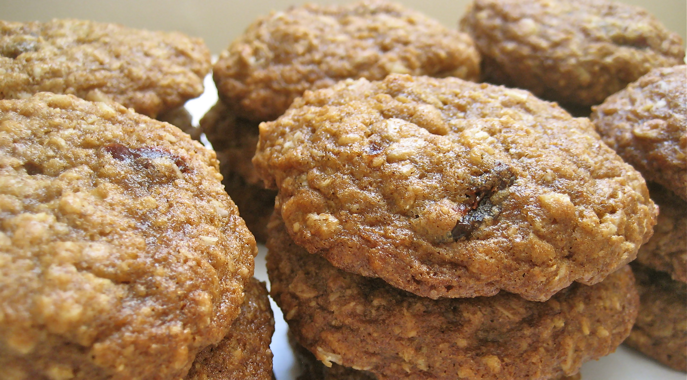 Oatmeal Cherry Walnut Cookies Recipe — Dishmaps