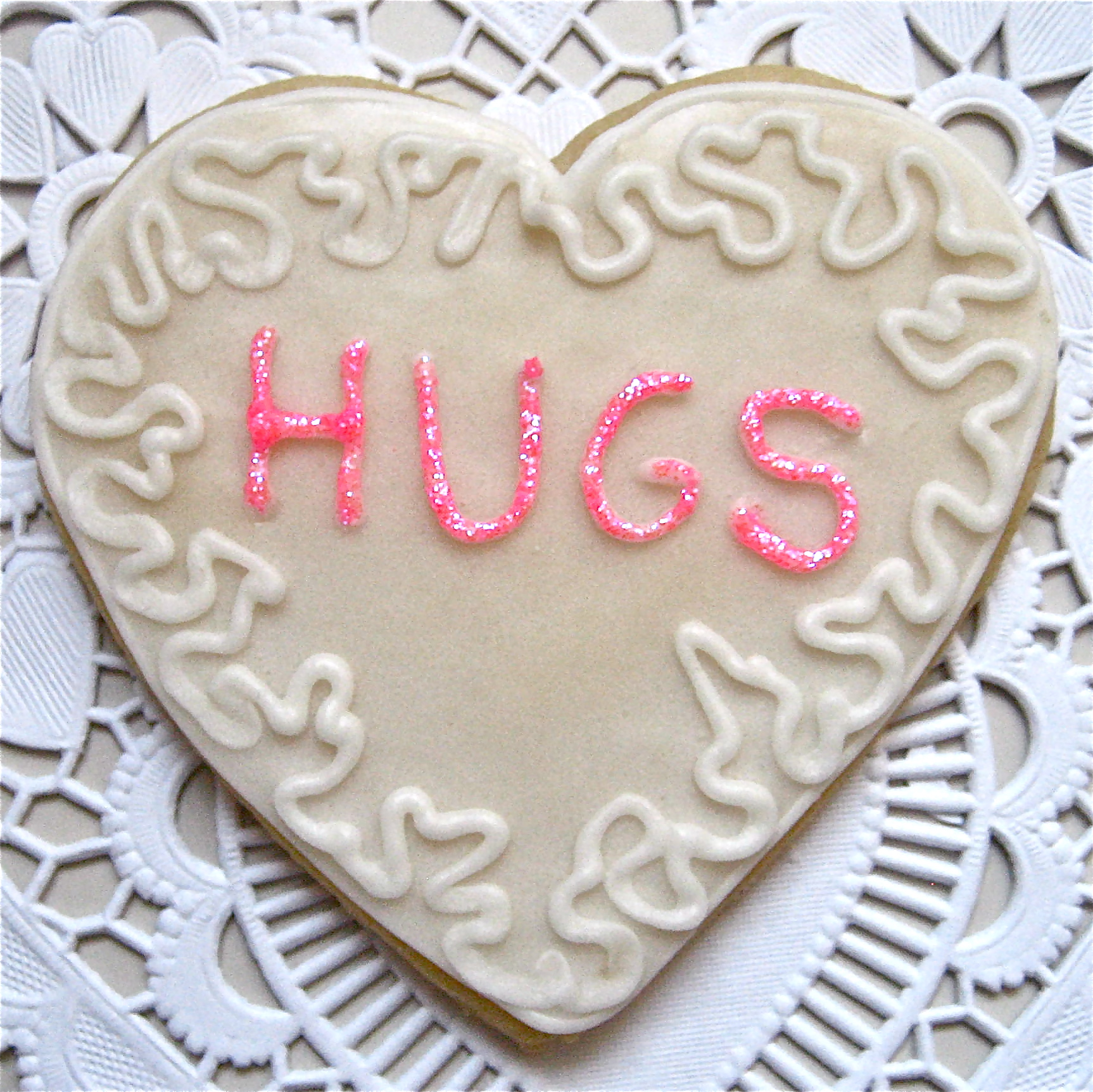 Valentine\'s Cut-Out Cookies | Big A, Little A