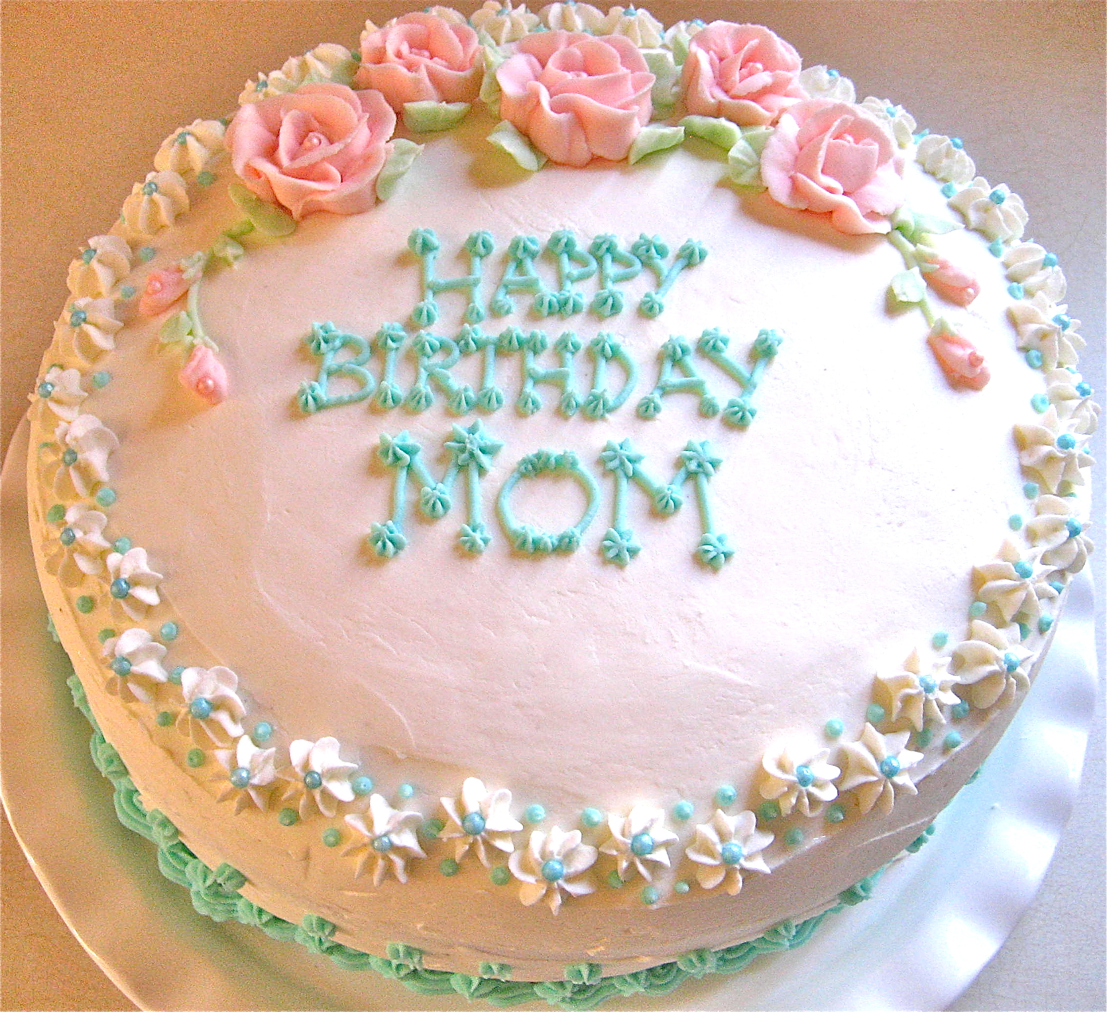 Birthday Cake Images To Mom : Big Day Birthday Cake Big A, Little A