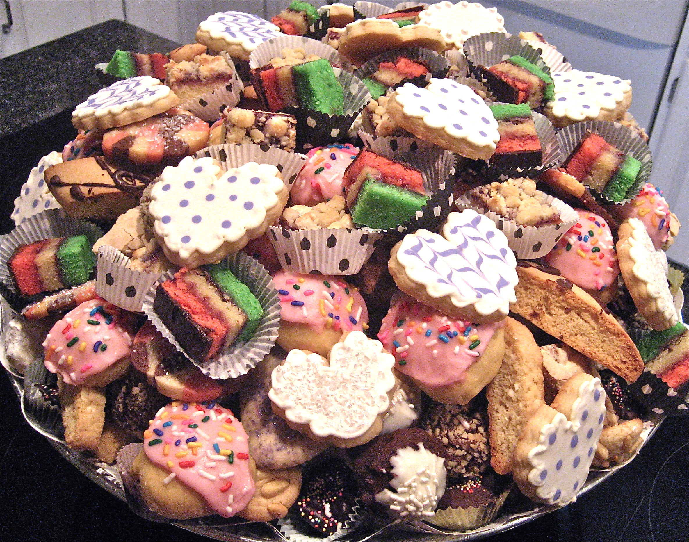 Christmas Cookie Trays.Party Perfect Cookie Tray Ii Big A Little A