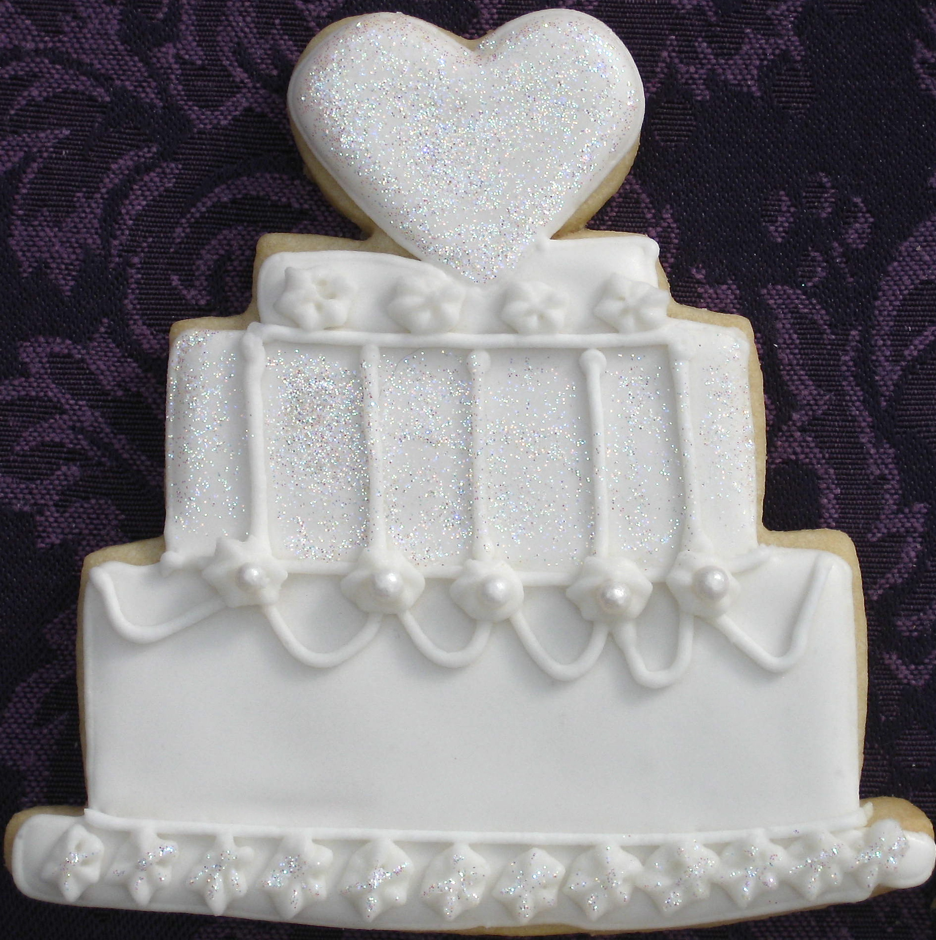 wedding cake shaped cookies wedding cake cookies big a a 8748