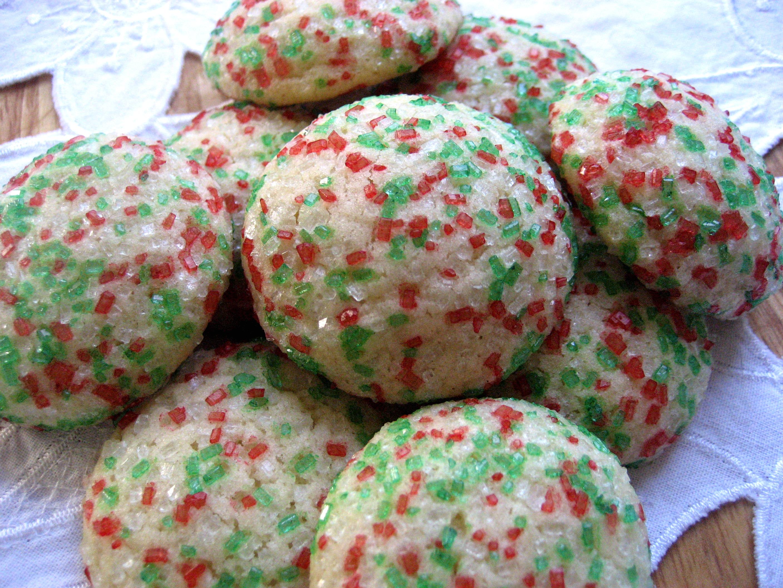Vanilla Drop Sugar Cookies Big A Little A
