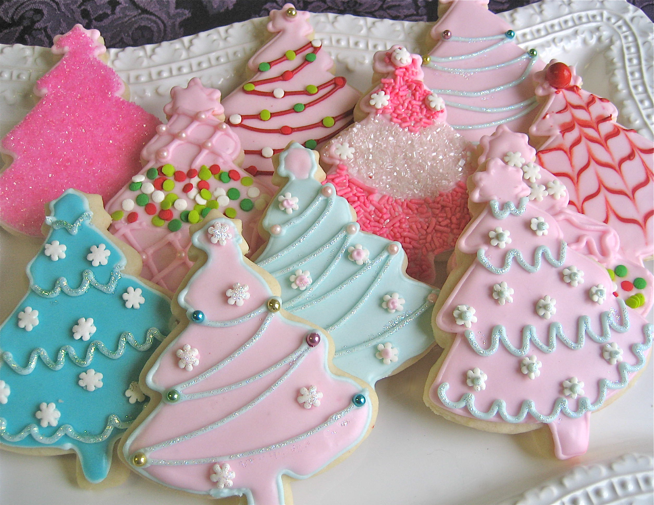 Recipe for icing for christmas cookies