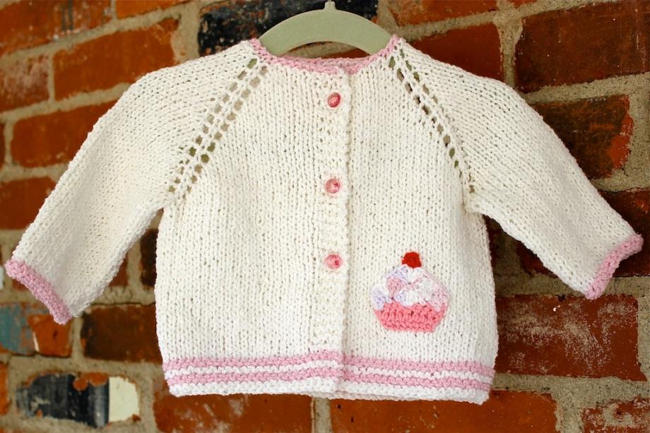 Cupcake Baby Sweater