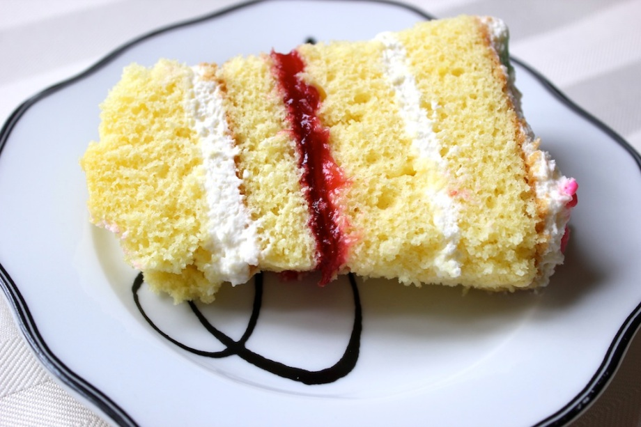 Lemon Raspberry Birthday Cake