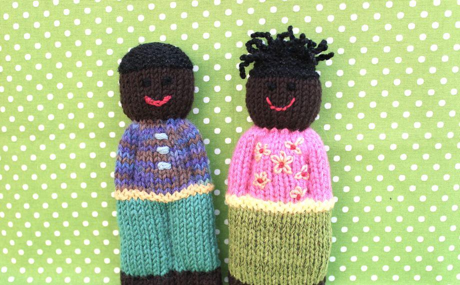 Duduza Comfort Dolls Big A Little A