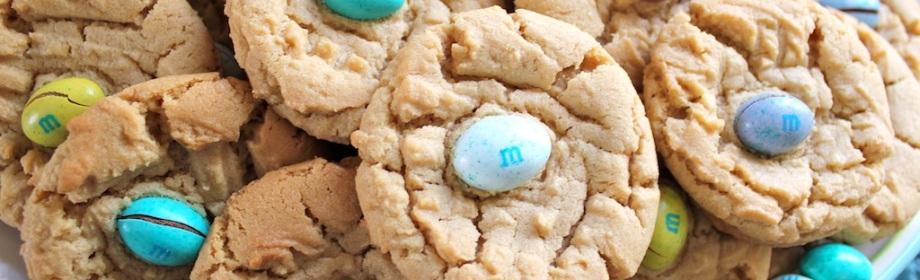Spring Peanut ButterCookies