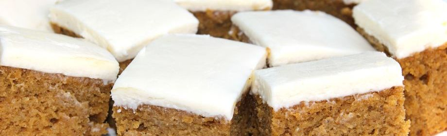 Frosted Pumpkin Squares