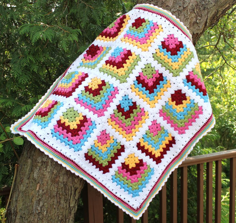 Granny Square Afghan Pattern New Decorating Ideas