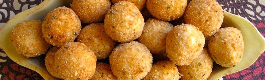 Crispy Golden RiceBalls