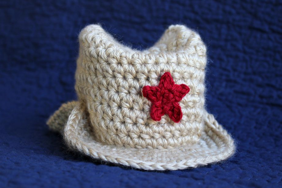 Cowboy Cute: Baby Quilt and Hat | Big A, Little A
