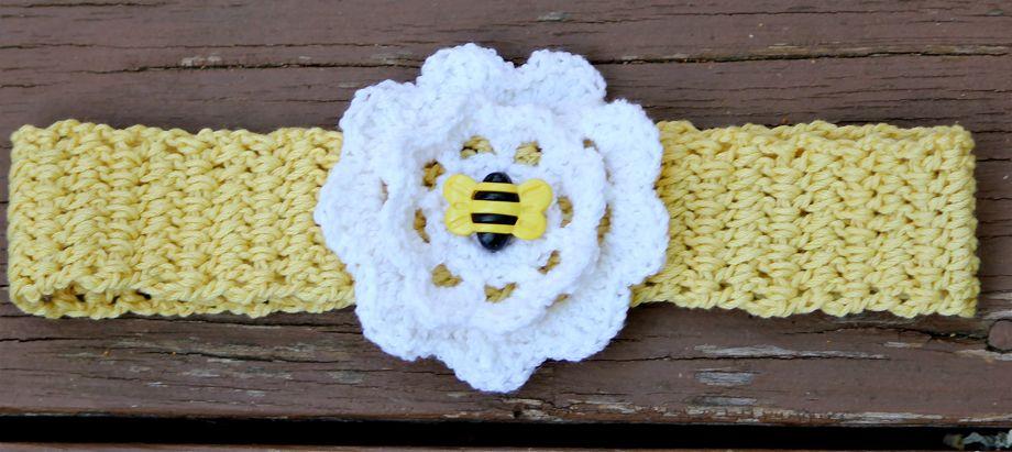 Cotton Crocheted Headbands