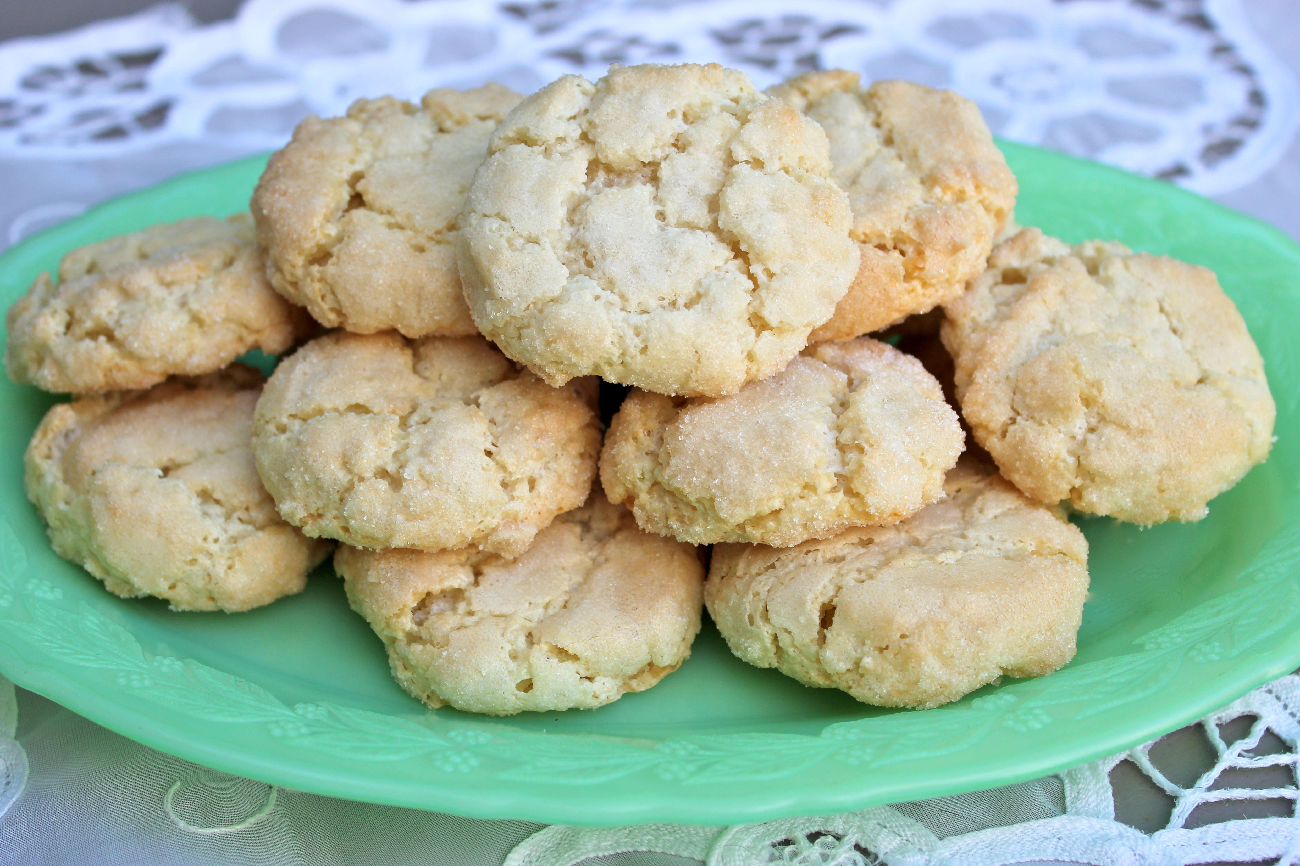 Italian Amaretti Cookies | Big A, Little A