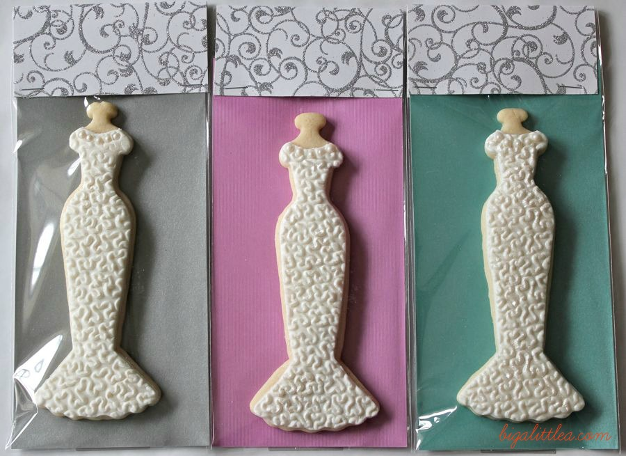Wedding Dress Sugar Cookies | Big A, Little A