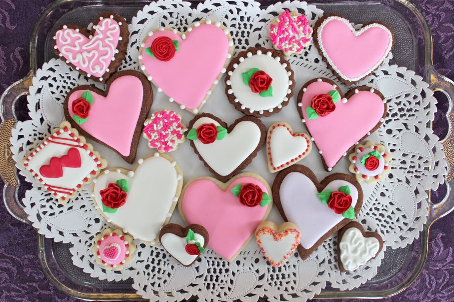 ... Sugar Cookie, Valentines Cookies · IMG_3492